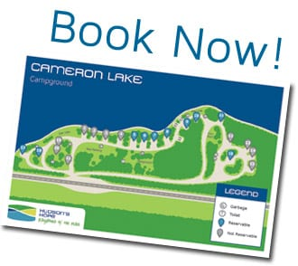 Cameron Lake: Book Now!