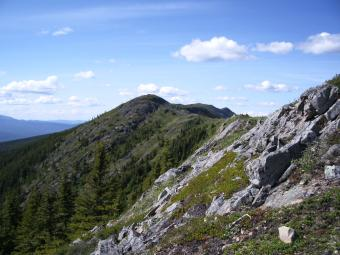 hiking bulter ridge