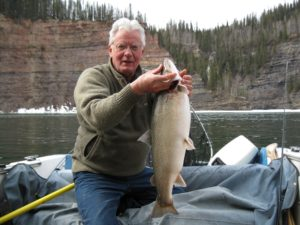 April 2011 Fishing at Dinosaur Lk (2), by Tom Roberts