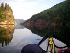 Dinosaur Lake, Markus Zwygart boating