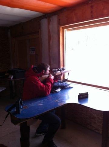 hunting shooting gun range