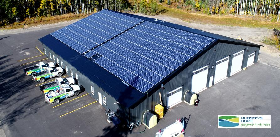 Public Works Shop Solar Array