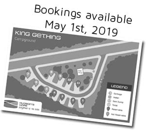 King Gething: Book Now!