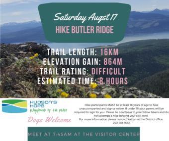Hike Butler