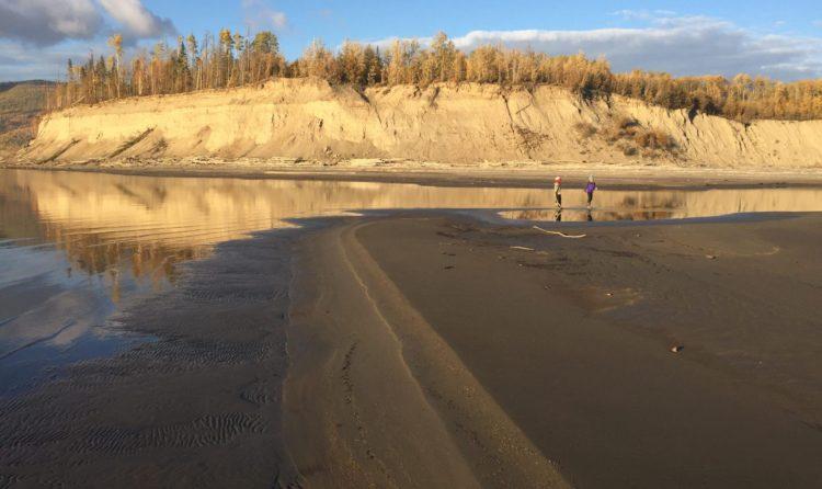 beach mud sink bay